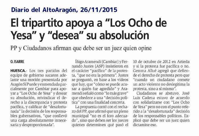 20151126_DAA_AytoHuesca apoya 8deYesa